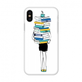 iPhone X  Book Worm by Martina ()