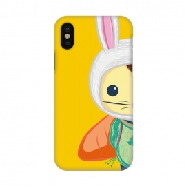 iPhone X  Little Bunny by Alejandro Orjuela