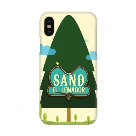 iPhone X  Sand The Woodcutter by Alejandro Orjuela ()
