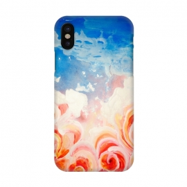 iPhone X  Peachy Roses by ANoelleJay ()