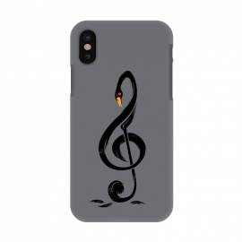 iPhone X  Black Swan's Melody by Steven Toang ()