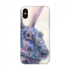 iPhone X  Black Rabbit by Brandon Keehner ()