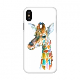 iPhone X  Colorful Giraffe by  ()