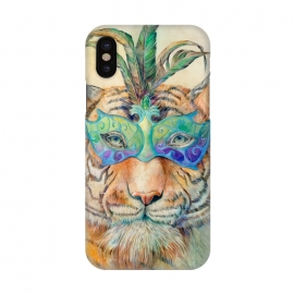 iPhone X  Tiger by Brandon Keehner ()