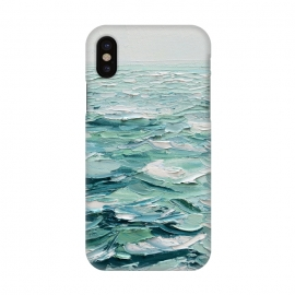 iPhone X  Minty Seas by Ann Marie Coolick ()