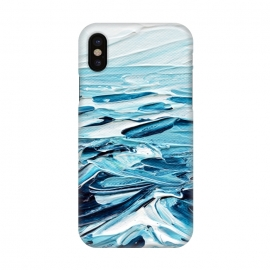 iPhone X  Tiny Seascape by Ann Marie Coolick ()