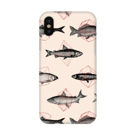 iPhone X  Fishes in Geometrics I by Florent Bodart ()