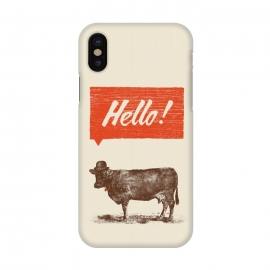 iPhone X  Hello by Florent Bodart ()