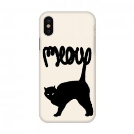 iPhone X  Meow by Florent Bodart