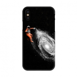 iPhone X  Space Art by Florent Bodart ()