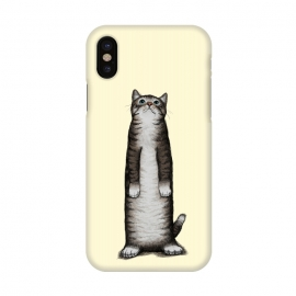 iPhone X  Look Cat by Tummeow