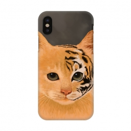 iPhone X  Tiger by Tummeow