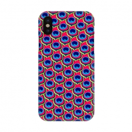 iPhone X  Retro Peacock by Amaya Brydon (peacock,feathers,pattern,retro)