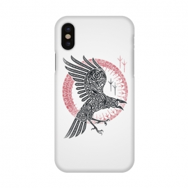 iPhone X  RAGNAR'S RAVEN by RAIDHO