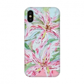 iPhone X  Stargazer Bouquet by  (stargazers,lilies,flowers,lily,floral,pink,spring,springtime)