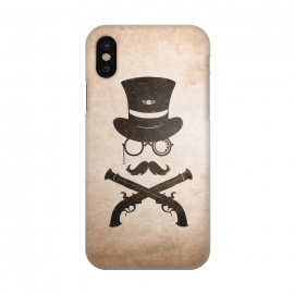 iPhone X  Steampunk by Grant Stephen Shepley
