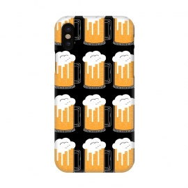 iPhone X  CITY BEER PATTERN by Coffee Man