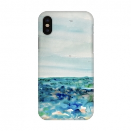 iPhone X  Miami Beach Watercolor #8 by ANoelleJay (ocean,blue,sea,green,nature,environmental,pop,travel,beach,vacation,tropical,tropics,caribbean)