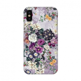 iPhone X  Floral Pattern by Riza Peker