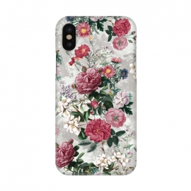 iPhone X  Floral Pattern III by Riza Peker (Floral,design,art,RizaPeker)