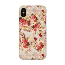 iPhone X  Floral Pattern X by Riza Peker (Flowers,Roses,art,design,RizaPeker)