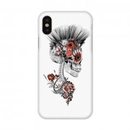 iPhone X  Momento Mori Punk II by Riza Peker