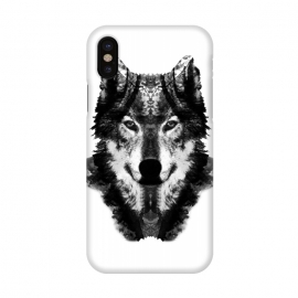 iPhone X  The Black Forest Wolf  by Rui Faria