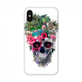 iPhone X  Summer Skull III by Riza Peker