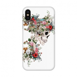 iPhone X  Skull Queen by Riza Peker