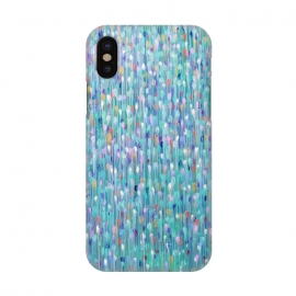 iPhone X  Sparkly Water by Helen Joynson