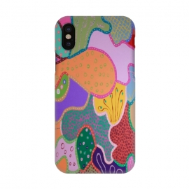 iPhone X  Colours of Another Galaxy by Helen Joynson (modern fun)