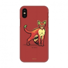 iPhone X  [ Fruit Cats ] Apple by Draco