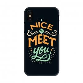 iPhone X  Meet You by Tatak Waskitho