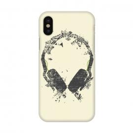 iPhone X  Art Headphones by