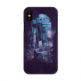 iPhone X  R2D2 by  (r2d2,robot,droid,star wars,star,wars,movie,film,android,space,cosmos)