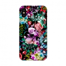 iPhone X  Multicolor Floral Pattern by