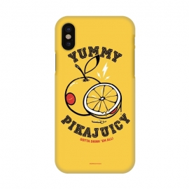 iPhone X  [ba dum tees] Pikajuicy by