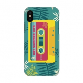 iPhone X  Hot Summer Retro Tape by Dellán