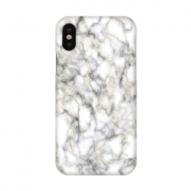 iPhone X  Classic Marble by Martina (marble,abstract,modern,stylish,classy,elegant,for her,gift)