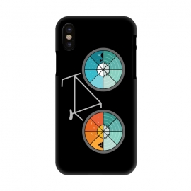 iPhone X  Bicycle Landscape by Coffee Man