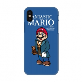 iPhone X  Fantastic Mario by Alisterny