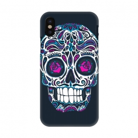 iPhone X  Calavera IV Neon  by Wotto