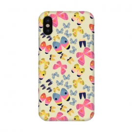 iPhone X  Flutterby Butterfly by Sarah Price Designs