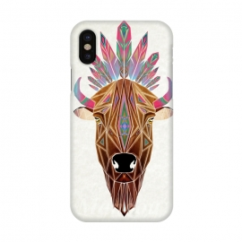 iPhone X  bison by Manoou