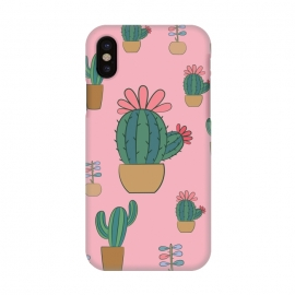 iPhone X  Cactus by Rossy Villarreal
