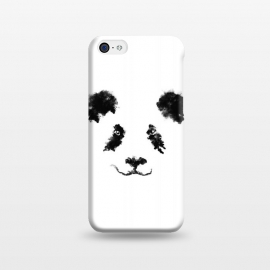 iPhone 5C  Cloud Panda by Sitchko Igor (Animal,animals,panda,bear,blackanswhite,sky,cloud,minimal,minimalstic,nature)