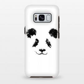 Galaxy S8 plus  Cloud Panda by  (Animal,animals,panda,bear,blackanswhite,sky,cloud,minimal,minimalstic,nature)