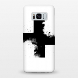Galaxy S8+  Across the Shadow by Sitchko Igor (Black,white,blackandwhite,plus,cross,across,shadow,sky,clouds,minimal,minimalism)