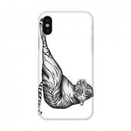 iPhone X  The Hunter | Tiger by ECMazur