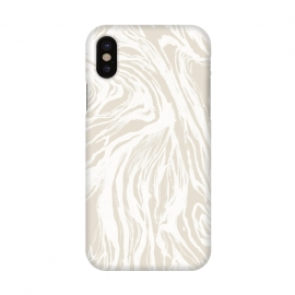 iPhone X  Nude Marble by Caitlin Workman